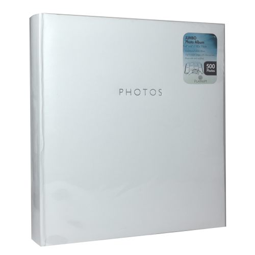 Glamour White 4x6 (500) Photo Album