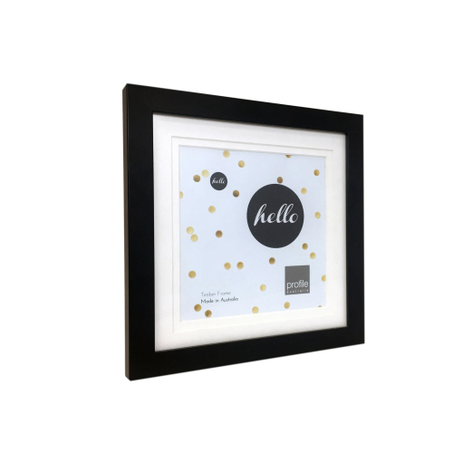 Deluxe Black 12x12 Frame for 10x10