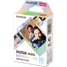 Load image into Gallery viewer, Fujifilm Instax Mini Film Mermaid Tail 10 Pack