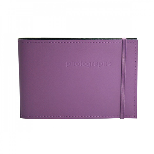 Citi Plum Leather 4x6 Photo Album