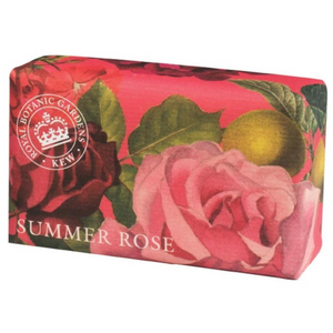 Kew Summer Rose Luxury Shea Butter Soap 240g