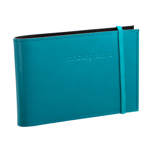 Citi Teal Leather 4x6 Photo Album