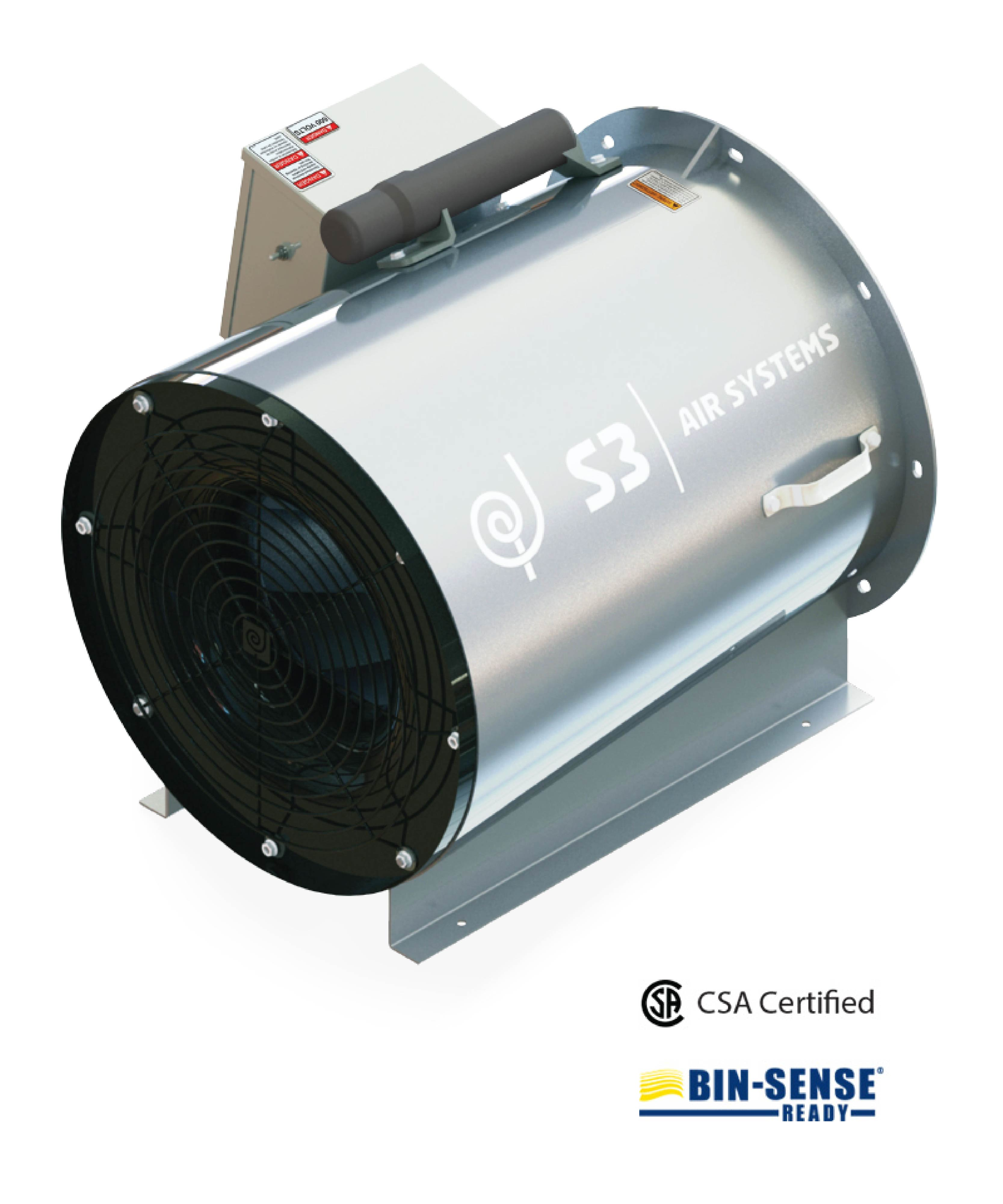Turbo Aeration Fan
