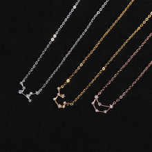 Load image into Gallery viewer, Constellation Necklace with Crystal for Women