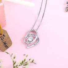 Load image into Gallery viewer, Personalized Heart Necklace With Birthstone