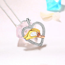 Load image into Gallery viewer, Personalized Holding Hand Heart Necklace For Mom