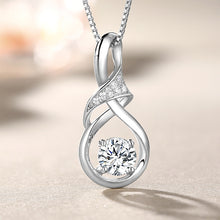 Load image into Gallery viewer, Customized Infinity Birthstone Necklace