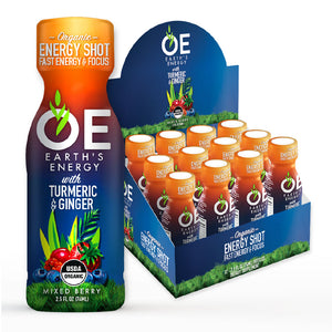 OE Earth's Energy Mixed Berry Shot