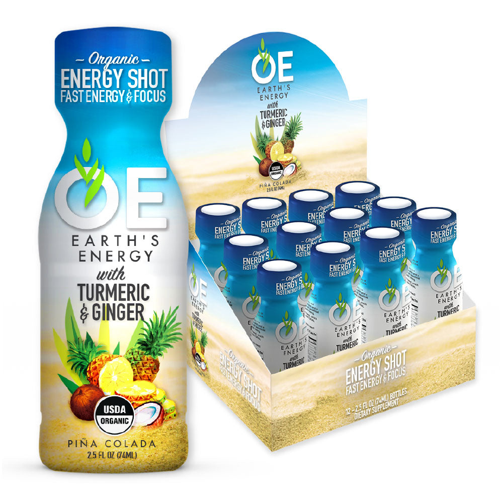 OE Earth's Energy Piña Colada Shot