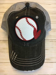 Baseball Hat with Heart