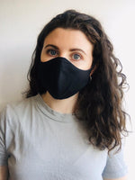 Reusable Face Mask - Black (Pack of 2) - Face It