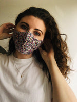 Ladies Reusable Face Mask - Pink Pattern