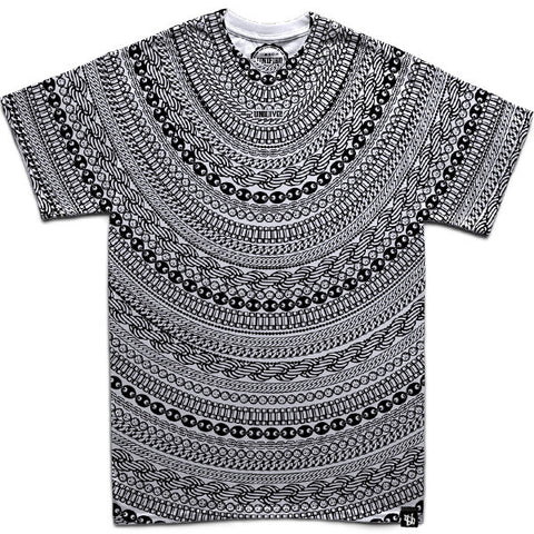 Gold & Diamond Chains (Silver) T-Shirt