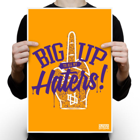 Haters Gold Poster