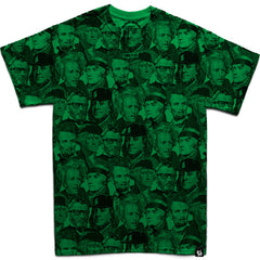 Dead Presidents & Friends (Kelly Green) T-Shirt