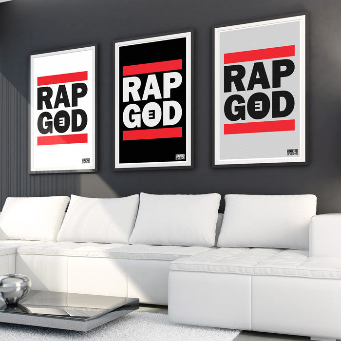 Rap God Wall