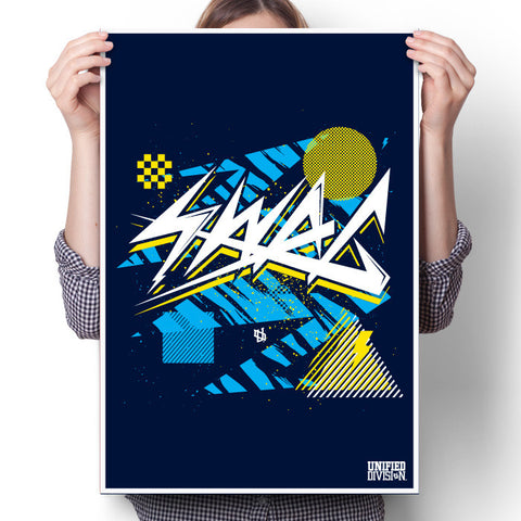 Swag - Navy Poster