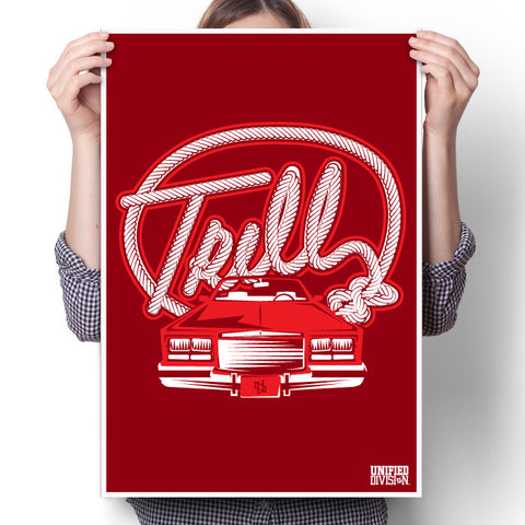 Trill-Ind Red Poster