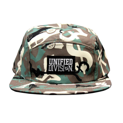 Unified Division Camo - Green Hat