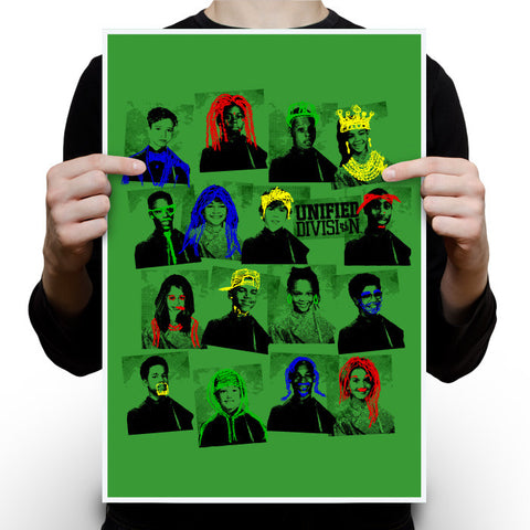 Yearbook - Green Apple Poster
