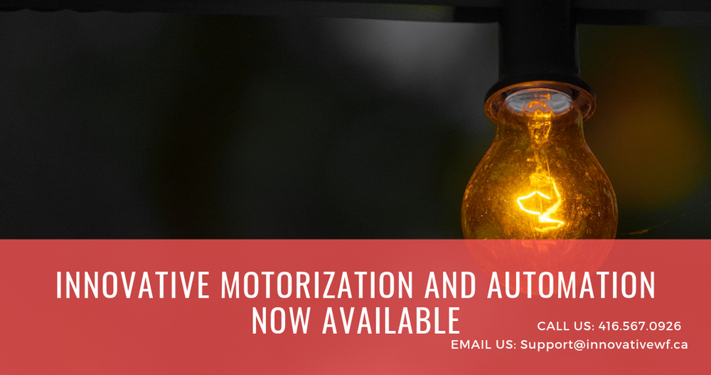Innovative Motorization and Automation Now Available
