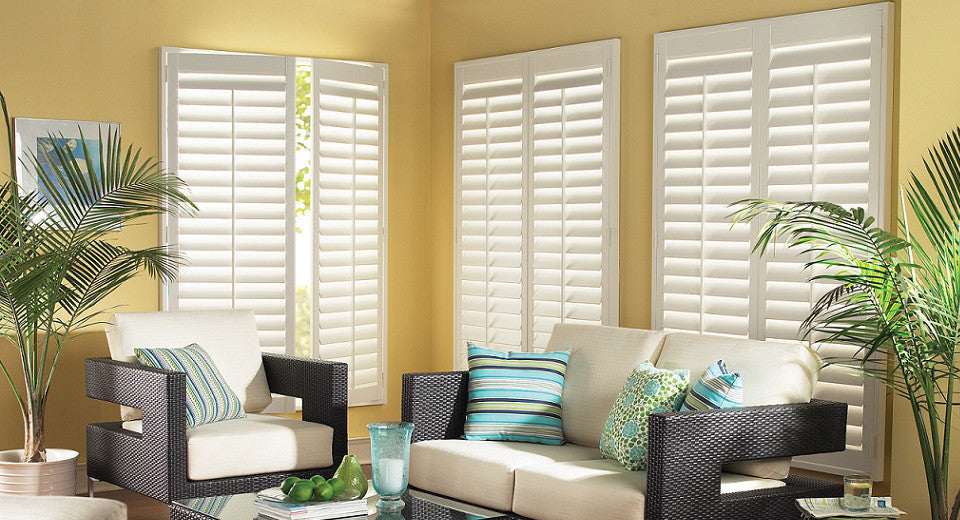 vingnette budget columbia treatments shutters window douglas blinds best hunter shades for by and plantation vignettes side coverings cordless mo roller