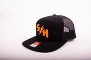 "Sledgehammers "" BULLETPROOF"" Black 7 panel snapback"