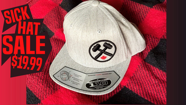 Sick Hat Sale 110 Flex Heather Grey