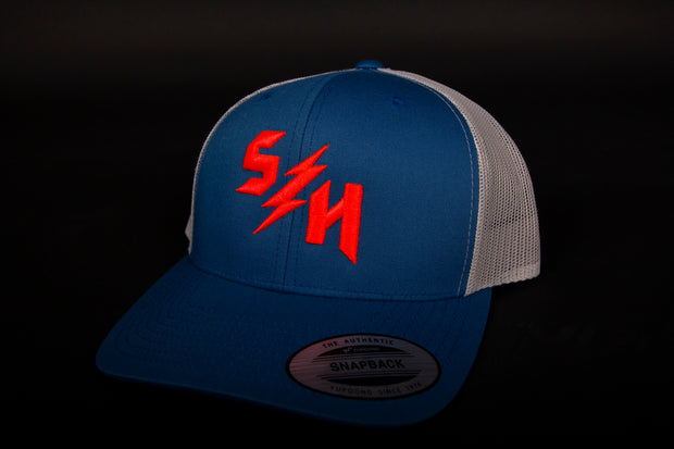 "Sledgehammers "" The Hype "" Mesh-back curved brim"