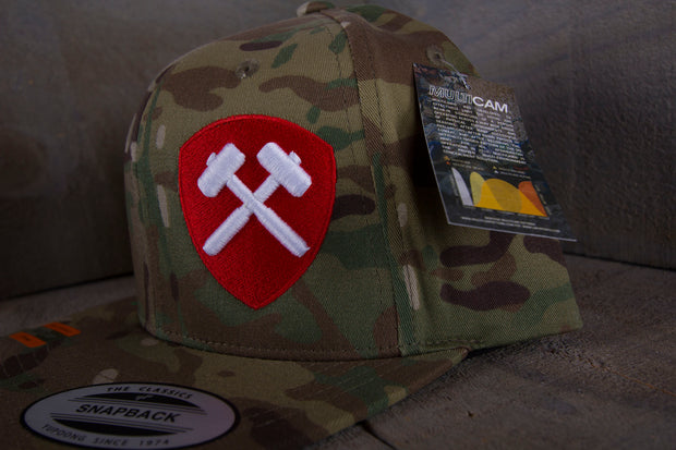 "Sledgehammers ""Fully Armed"" MultiCam snapback"
