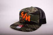 "Sledgehammers "" TIGER CAMO BULLETPROOF "" 7 Panel Snapback"