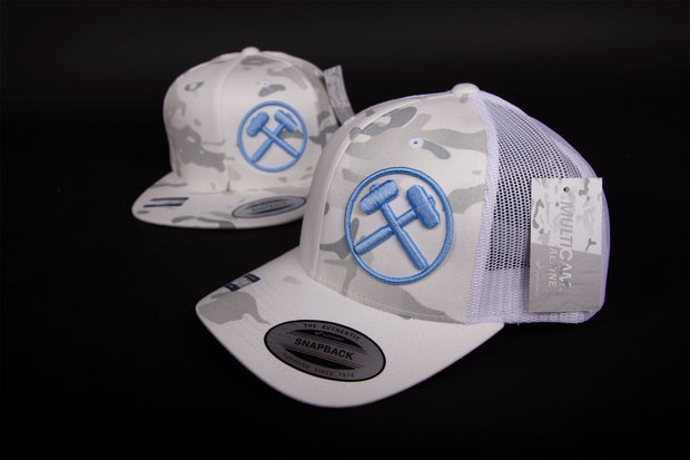 "Sledgehammers "" Low Visibility "" Curved brim Mesh/Snap"