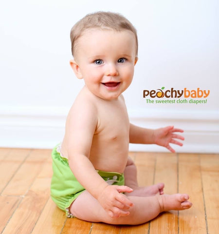 Peachy Baby One Size Diaper Set - Busy Baby Cloth Diapers  - 1