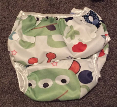 Easy Peasies Swim Diaper - One Size - Busy Baby Cloth Diapers  - 1