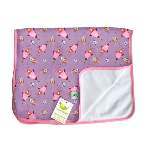 Sweet Pea Change Mats - Busy Baby Cloth Diapers  - 1