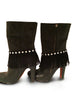Sassy Strapps Fringe and Studded Boot Straps …