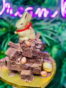 Easter - Bunny Brownie Tower