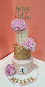 3 Tier Cake, doughnut & cupcake offer!