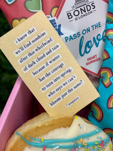 Positivity Valentine Gift Box - NATIONWIDE POST AVAILABLE