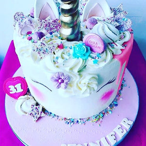 Unicorn Birthday Cake -Usually £85