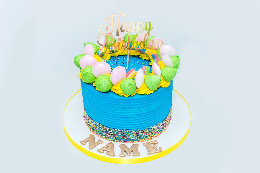 Sweetie Treatie Birthday Explosion Drip Cake