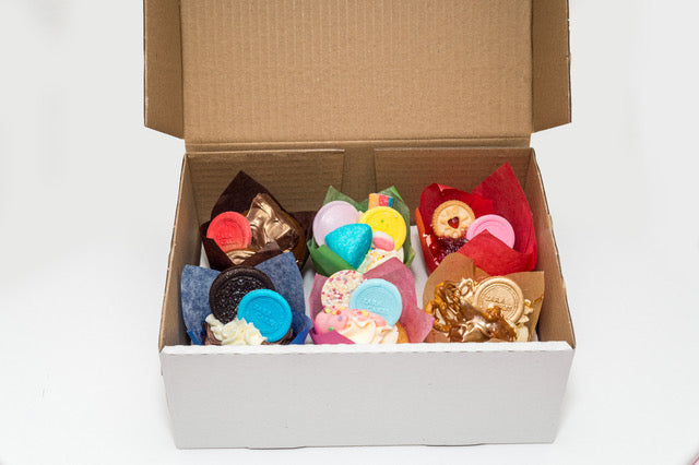 Mixed Box of 6 Cupcakes - Promotion