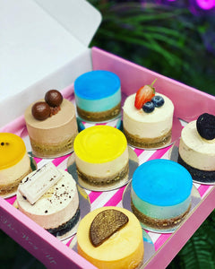 Assorted Stunning Mini Cheesecakes
