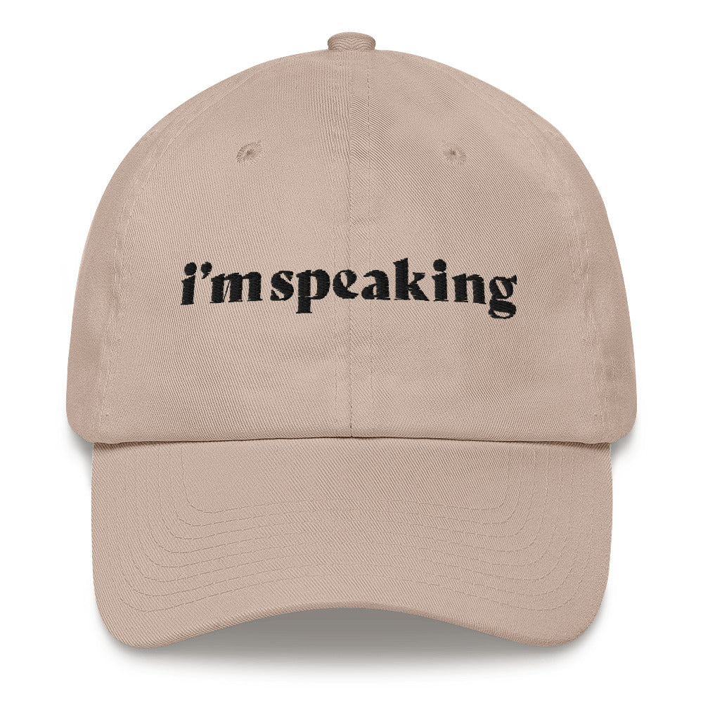 i'm speaking hat