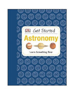 Load image into Gallery viewer, Blue hardcover educational astronomy book for beginners