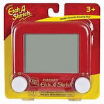 Load image into Gallery viewer, Retail packaging of pocket sized Etch A Sketch toy