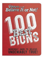 Load image into Gallery viewer, Red softcover copy of Ripley's Believe It or Not 100 Best Believe It or Not Stories