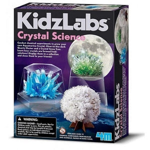 Educational science activity kit with grow your own crystal crystal