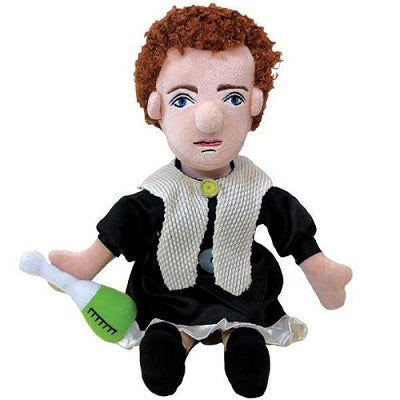 Plush Marie Curie stuffed toy