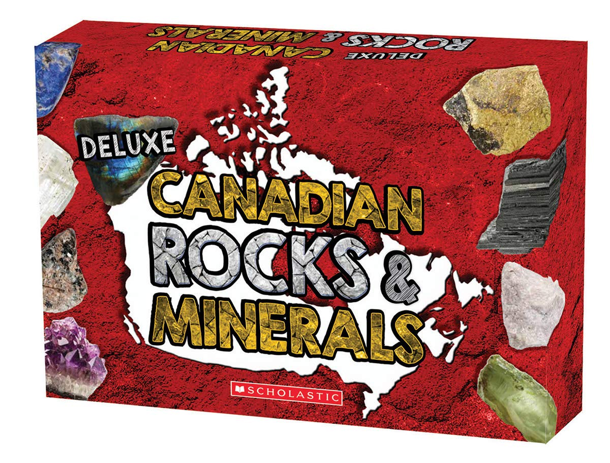 Educational science activity kit on Canadian rocks and minerals